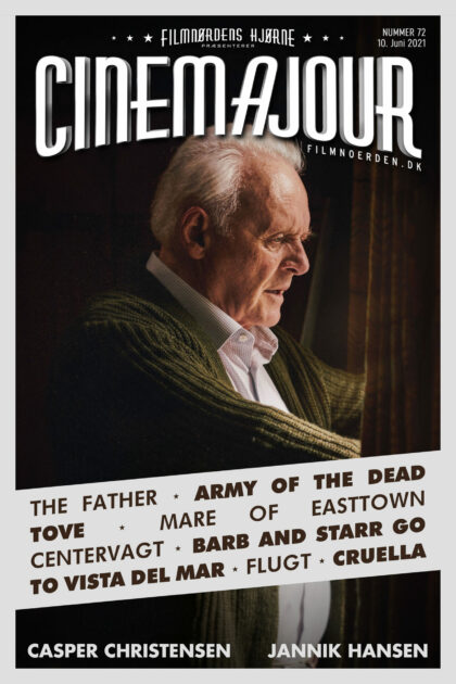Cinemajour 72 (The Father, Flugt, Cruella, Mare of Easttown, m.m.)