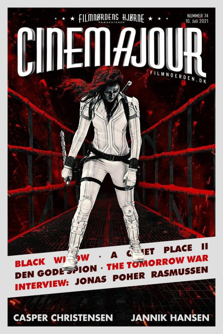 Cinemajour 74 (Black Widow, A Quiet Place II, Den gode spion, m.m.)