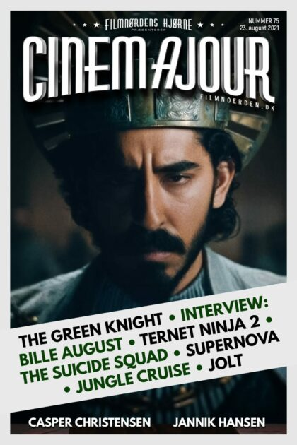 Cinemajour 75 (The Green Knight, The Suicide Squad, Ternet Ninja 2, Bille August-interview, m.m.)