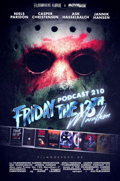 Podcast 210 (Den med Fredag d. 13.-marathon...)